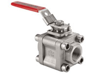 3-Piece Maintenance Design Ball Valves